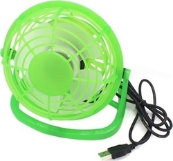 USB Desktop Fan Green
