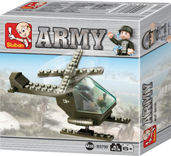 Sluban Army: Battle Copter 51τμχ
