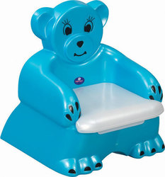Pilsan Pot Seat Bear Blue