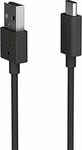 Sony Regular USB 2.0 Cable USB-C male - USB-A male Μαύρο 1m (UCB20)