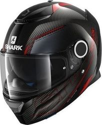 Shark Carbon Silicium Carbon Red/Anthracite