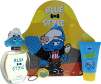 Disney Vanity Blue Style Eau de toilette 100ml & Shower Gel 75ml & Key Chain