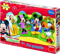 Mickey Club 4*54pcs (33307) Dino