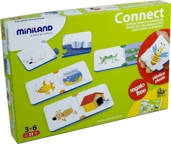 Connect 10*2pcs (36051) Miniland Educational