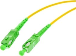 Opton Optical Fiber SC/APC-SC/APC Cable 10m Πράσινο (52609)