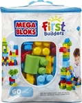 Mega Bloks First Builders: Big Building Bag 60τμχ