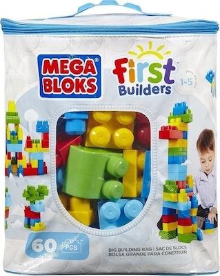 Mega Bloks First Builders: Big Building Bag 60τμχ