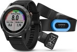 Garmin Fenix 5 Performer Bundle (Slate Gray with Black Band)