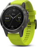 Garmin Fenix 5 (Slate Gray with Amp Yellow Band)