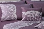 Down Town Home Μονή Σετ Lace Purple S622