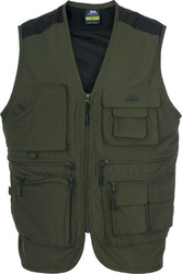 Trespass Tackle Gilet Green