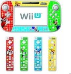Hori Decorative Skin & Screen Filter Super Mario Wii U