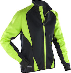 Ladies Freedom Softshell Jacket Result S256F - Lime Black 74ea0968e79