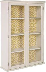 Edvige Ivory Display Cabinet 2do 0744578 80x25x120cm