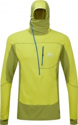 Mountain Equipment Eclipse Hooded Zip Tee ME-001485 Kiwi