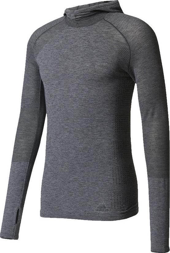75e5423a89b6 Προσθήκη στα αγαπημένα menu Adidas Primeknit Wool Hooded Tee AZ2885