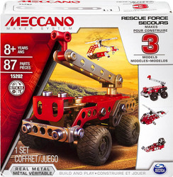 Meccano 3 Model Set: Rescue Squad