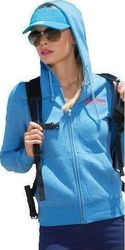 Body Action Zip Hooded 71403 Blue