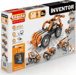 Engino Inventor 50 in 1 Models Motorized Set