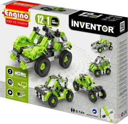 Engino Inventor 12 in 1 Models Cars