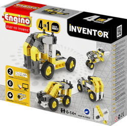 Engino Inventor 4 in 1 Models Industrial