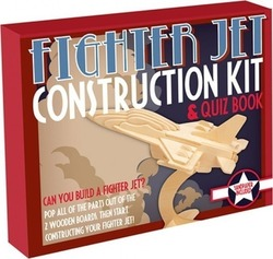 Professor Puzzle Construction Kit - Fighter Jet
