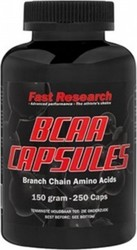 Fast Research BCAA 250 κάψουλες