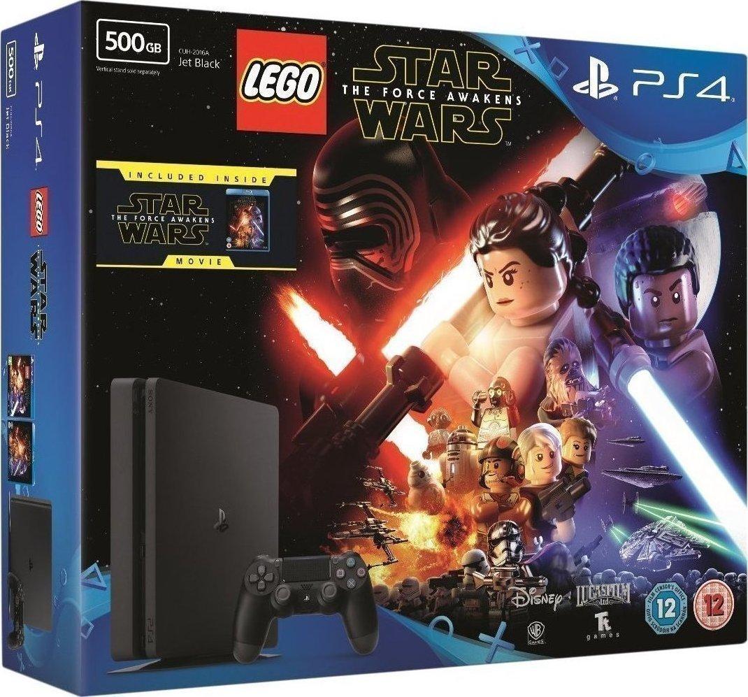 sony playstation 4 ps4 slim 500gb  lego star wars the