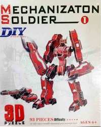 OEM 3D Puzzle Mechanization Soldier