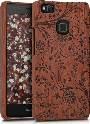 KW Back Cover Swirls Rosewood Dark Brown (Huawei P9 Lite)