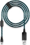 Lioncast Charging Cable Black/Blue 4m PS4