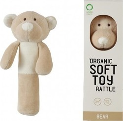 Wooly Organic Teddy Κουδουνίστρα