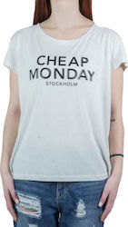 CHEAP MONDAY HAVE TEE 0150467Z 050 DIRTY WHITE