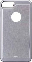 KMP Back Cover Μεταλλικό Silver (iPhone 8/7)