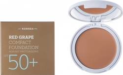 Korres Red Grape Compact Foundation SPF50+ Light 8gr