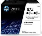 HP 87X Black 2-pack Toner (CF287XD)