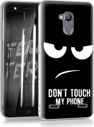 KW Back Cover Σιλικόνης Don't Touch My Phone (Blade V7 Lite)
