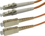 OEM Optical Fiber LC-SC Cable 20m Πορτοκαλί (04.023.0176)
