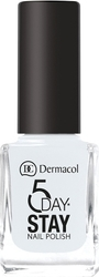 Dermacol 5 Day Stay Longlasting 01 Snow White