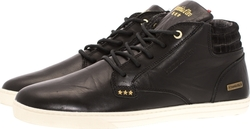 Pantofola D'Oro Prato Leather Mid Black
