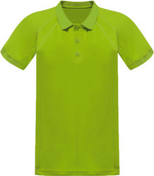Unisex Μπλούζα Polo Coolweave Regatta Standout TRS147 - Keylime