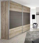Focus Oak Lava Grey Συρόμενη 226x62x210cm