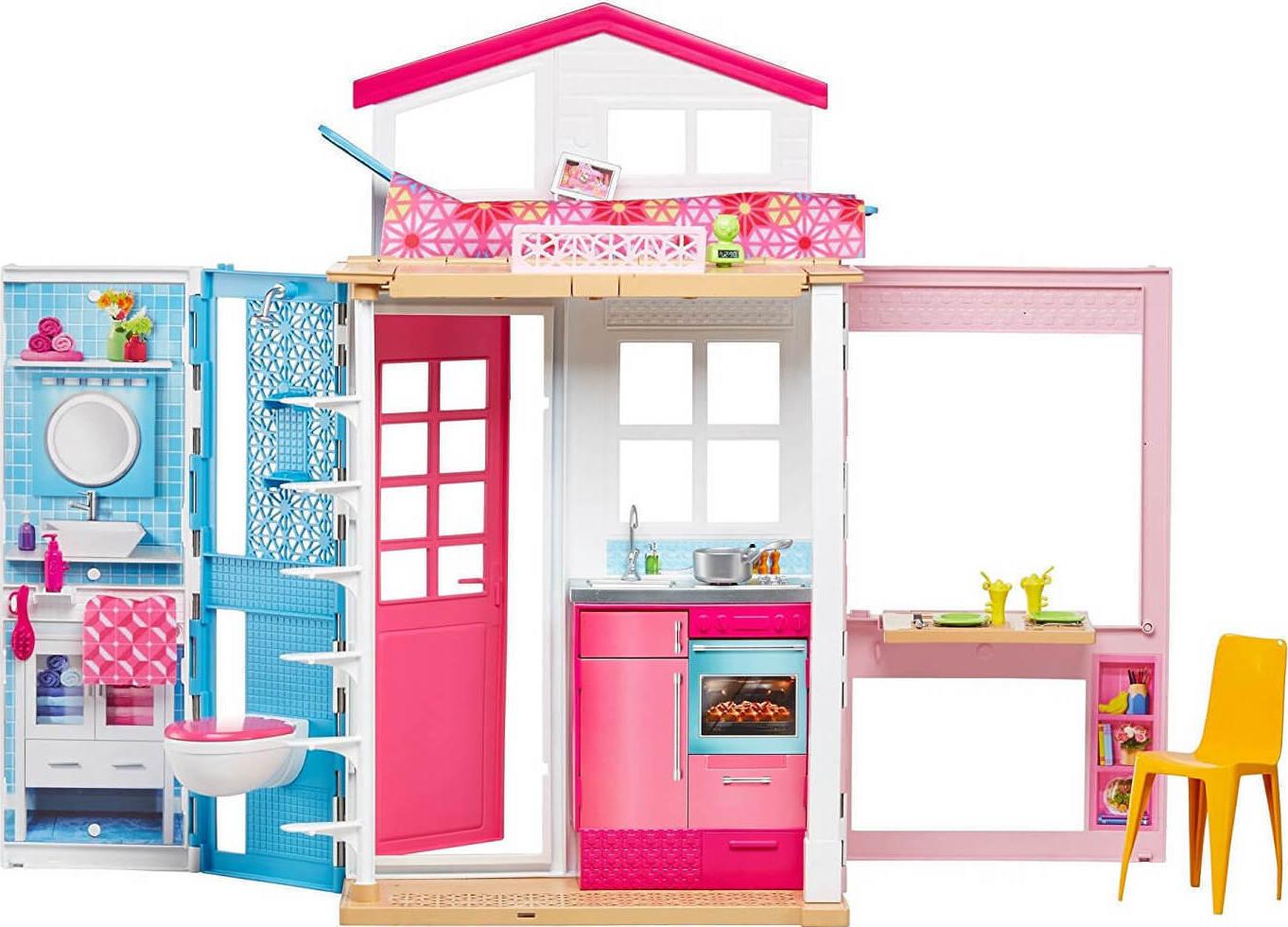 551380e6d21 Προσθήκη στα αγαπημένα menu Mattel Barbie: Σπιτάκι Βαλιτσάκι DVV47