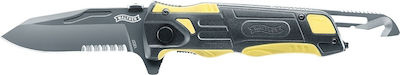 Walther Rescue Pro Yellow Knife