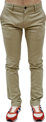 BOSS ORANGE S-CHINO SLIM TROUSER LIGHT/PASTEL BROWN