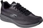 Skechers Two-toned Engineered Mesh Lace 52613-BKCC