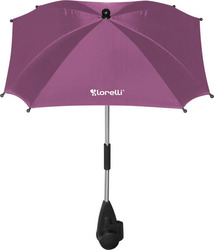 Lorelli Bertoni Baby Stroller Umbrella with UV Protection - Pink
