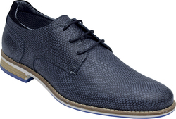 BULLBOXER SHOES NAVY SNAKE