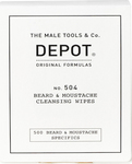 The Male Tools & Co Depot Beard & Moustache Cleansing Wipes 1x12 τμχ