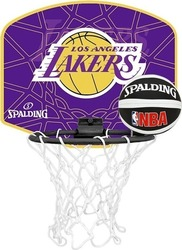 Spalding Micro Mini Back Board Lakers 77-628Z